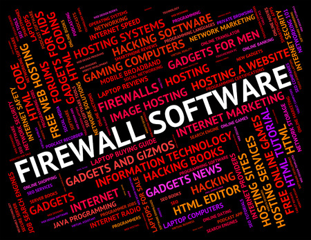 43802842 - firewall software meaning no access and application